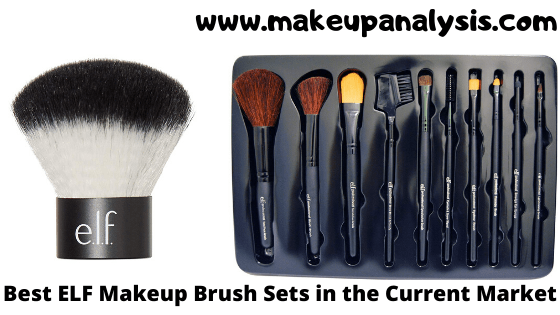 Best E.L.F. Makeup Brush Sets in the