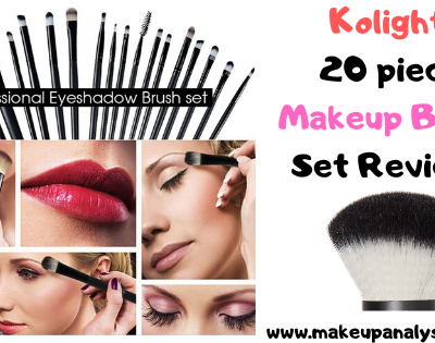 Kolight 20 piece Makeup Brush Set Reviews (cheap but good makeup brush sets)