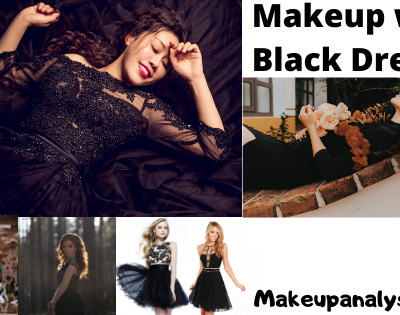 Makeup with Black Dress
