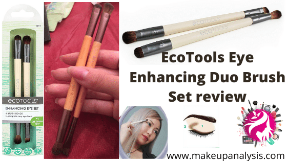 EcoTools Eye Enhancing Duo Brush Set review